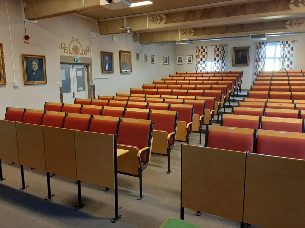 Bergsskolans aula