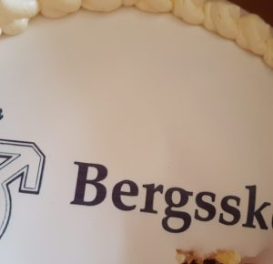Bergsskolan tårta
